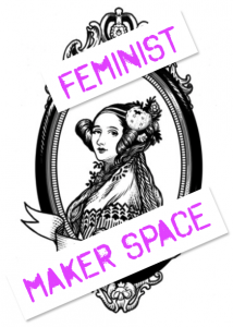 the flower in Ada Lovelace's hair has been replaced with the Wikipedia globe